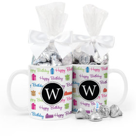 Personalized Birthday Gifts 11oz Mug with Hershey's Kisses