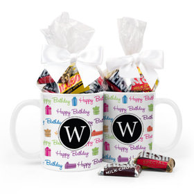 Personalized Birthday Gifts 11oz Mug with Hershey's Miniatures