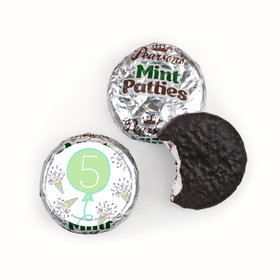 Personalized Birthday Party Time Pearson's Mint Patties