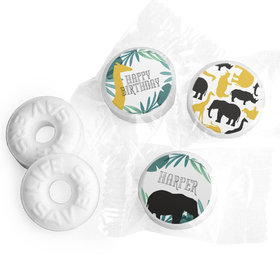 Personalized Wandering WIld Things Birthday Life Savers Mints