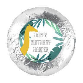 "Personalized Birthday Wandering Wild Things 1.25"" Sticker (48 Stickers)"
