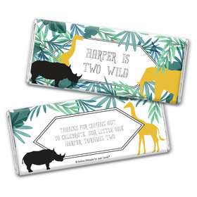 Personalized Birthday Wandering Wild Things Chocolate Bar Wrappers