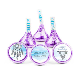 Personalized Birthday Wild Dreamer Hershey's Kisses (50 pack)