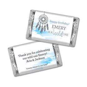 Personalized Birthday Wild Dreamer Hershey's Miniatures Wrappers