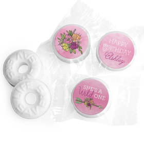 Personalized She's a Wild One Birthday Life Savers Mints