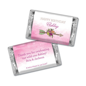 Personalized Birthday She's a Wild One Hershey's Miniatures Wrappers