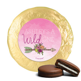 Personalized Birthday She's a Wild One Chocolate Covered Oreos