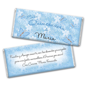 Jardin de Mariposas Personalized Candy Bar - Wrapper Only