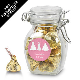 Personalized Latch Jar Quinceaera (6 Pack)