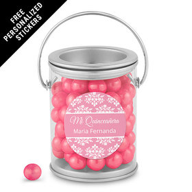 Quinceaera Personalized Paint Can Patrn de Flores (25 Pack)