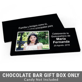 Deluxe Personalized Instantnea Quinceanera Candy Bar Cover