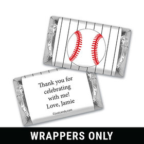 Home Run Personalized Miniature Wrappers