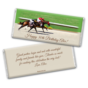 Derby Day Chocolate Bar Wrapper