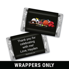 Game On Personalized Miniature Wrappers