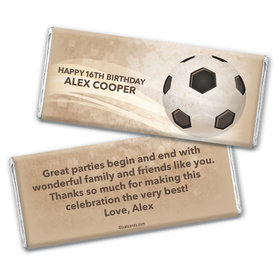 Kick It Personalized Candy Bar - Wrapper Only