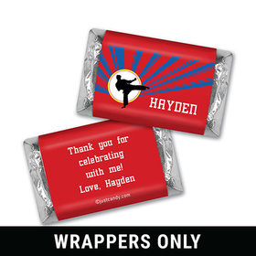 Personalized Youth Birthday Mini Wrappers