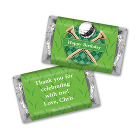 Par-Tee Time MINIATURES Candy Personalized Assembled