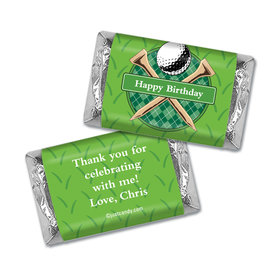 Par-Tee Time Personalized Miniature Wrappers