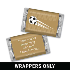 Goal Kick Personalized Miniature Wrappers