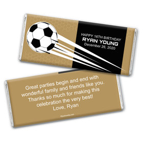 Goal Kick Personalized Candy Bar - Wrapper Only