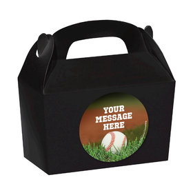 Baseball Personalized Favor Boxes (Set of 24)