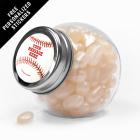 Baseball Personalized Mini Side Jar 24 Pack