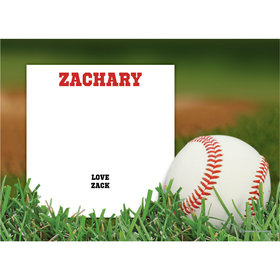 Baseball Personalized Thank You Note