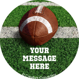 """Football Personalized 2"""" Stickers (20 Stickers)"""