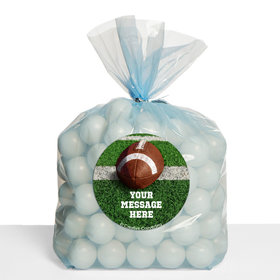 Football Personalized Cello Bags (Set of 30)