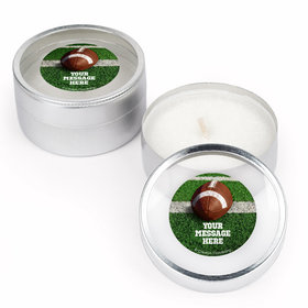 Football Personalized Candle (Set of 12)