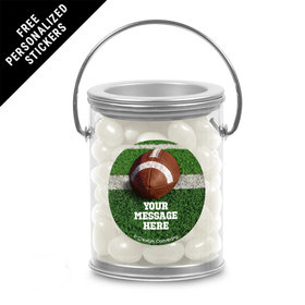 Football Personalized Paint Cans (25 Pack)