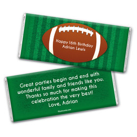 Play by Play Personalized Candy Bar - Wrapper Only