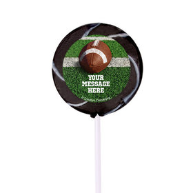 "Football Personalized 2"" Lollipops (24 Pack)"