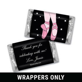 Ballerina Beauty Personalized Miniature Wrappers
