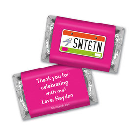 On The Road Personalized Miniature Wrappers