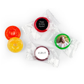 Add Your Photo Personalized Birthday LIFE SAVERS 5 Flavor Hard Candy Assembled