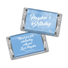 Bubbly Birthday Personalized Miniature Wrappers