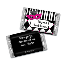Masquerade Personalized Miniature Wrappers