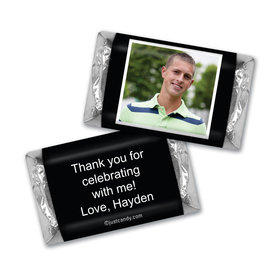 Birthday Personalized HERSHEY'S MINIATURES Photo & Message