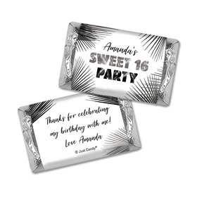 Personalized Sweet 16 Beach Party Hershey's Miniatures Wrappers