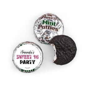Personalized Sweet 16 Birthday Beach Party Pearson's Mint Pattiess