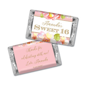 Personalized Personalized Sweet 16 Darling Dreams Hershey's Miniatures Wrappers