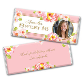 Personalized Sweet 16 Darling Dreams Chocolate Bar