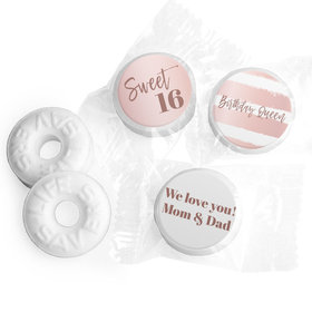 Personalized Life Savers Mints - Sweet 16 Birthday Birthday Queen