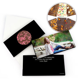 Personalized Birthday Sweet 16 Full Photo Birthday Gourmet Infused Belgian Chocolate Bars (3.5oz)