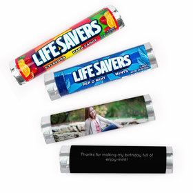 Personalized Sweet 16 Full Photo Lifesavers Rolls (20 Rolls)