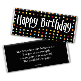 Birthday Surprise Personalized Candy Bar - Wrapper Only
