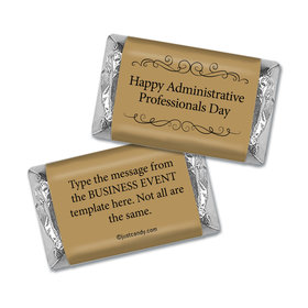 Personalized Hershey's Miniature Wrappers Only - Administrative Professionals Day You Deserve It