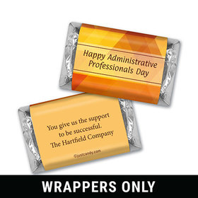 Personalized Hershey's Miniature Wrappers Only - Administrative Professionals Day Colorful