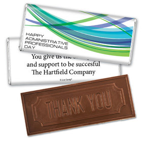 Employee Appreciation Embossed Thank You Chocolate Bar Tech Administrative Professionals Day